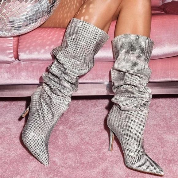 Aldo Shoes   Aldo Sparkly Boots   Poshmark